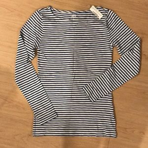 J.crew long sleeve painter tee
